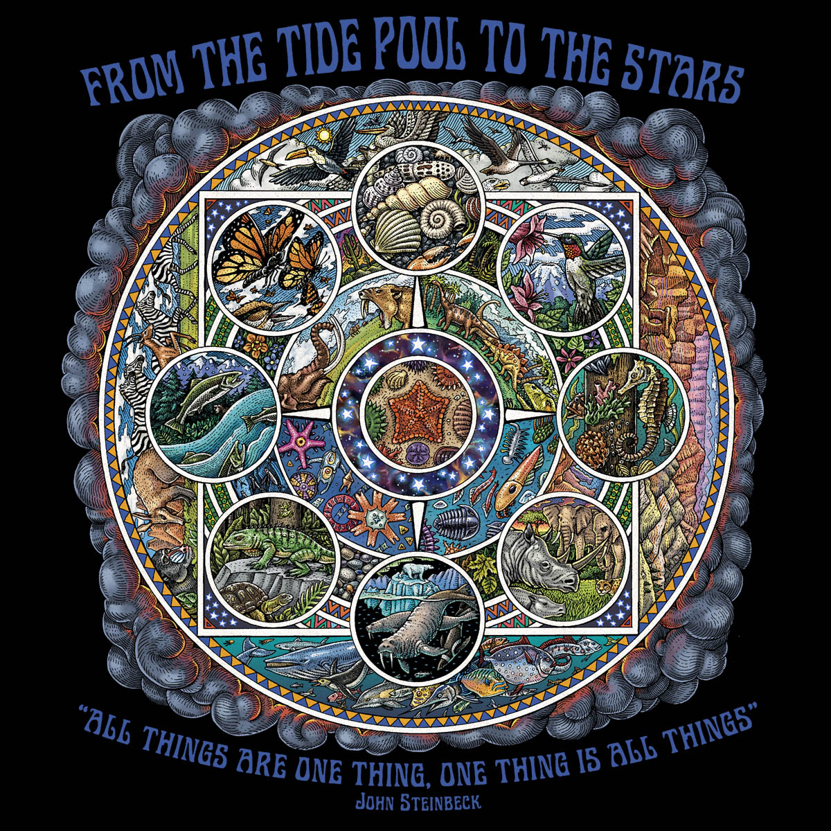 589 - Tide Pool Mandala